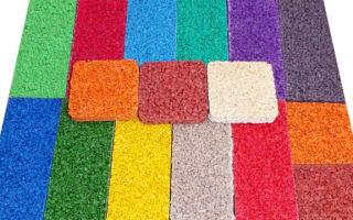 Резиновое покрытие для детских площадок: производственный бизнес-план