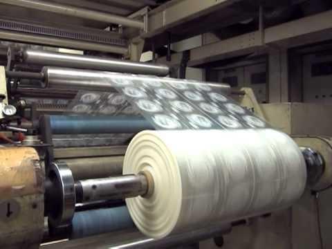 Производство воздушно пузырчатой упаковочной пленки: Технология и оборудование