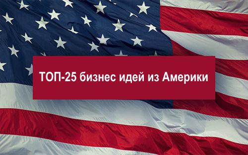 Новые бизнес идеи из США 2020 года: Что актуально, чего нет в России