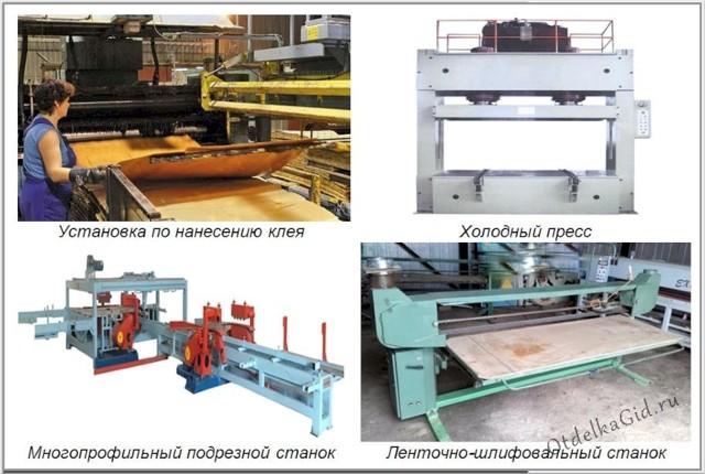 Производство фанеры: этапы изготовления и необходимое оборудование