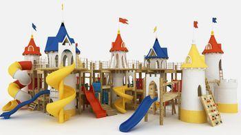 Производство детских площадок: этапы, оборудование, рентабельность
