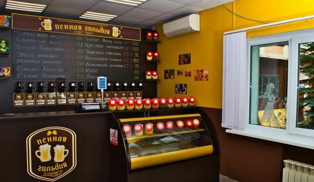Как открыть пивной магазин по франшизе ТМ «Пенная Гильдия»: анализ + особенности