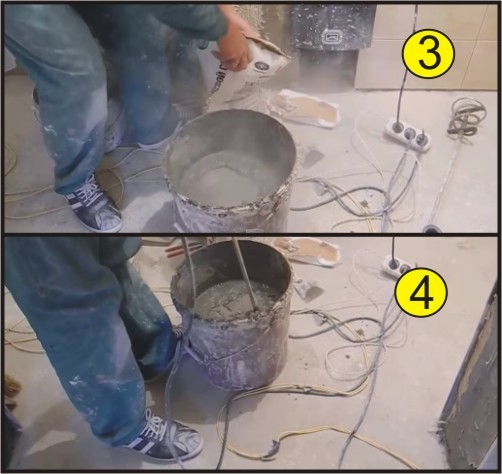 Как разводить плиточный клей: алгоритм замеса + лучшие смеси клея для плитки